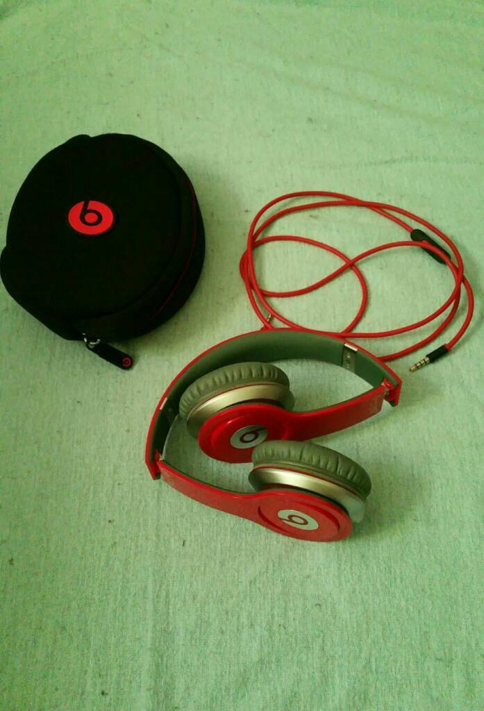 Beats solo 1 by Dr. Dre special edition red