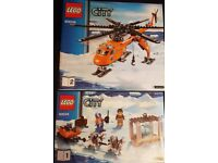 Lego City Artic Sets (60034 and 60033) £30 both sets