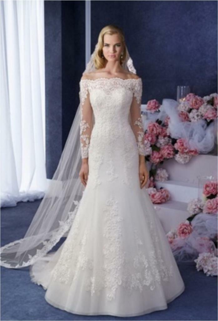 Ronald Joyce Wedding Dress Eugenia 69066 Size 12 (RRP £1,700.00 ...
