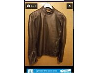 Quality affordable! Leather looking jackets, grey, black.