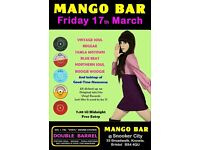 FRIDAY 17th MARCH - 60s 70s SOUL / REGGAE / MOTOWN / SKA with DOUBLE BARREL – MANGO BAR - KNOWLE