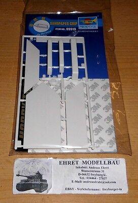 Sandpaper Grip Sandpapierhalter    für  Modellbau Trumpeter Neu 09919