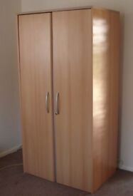 Large hideaway computer cupboard cabinet with pull out desk and shelves was £500 new.