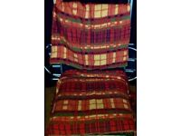 2 really old wool blankets