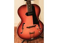 Electric Jazz Guitar Vintage Sun Burst Relic