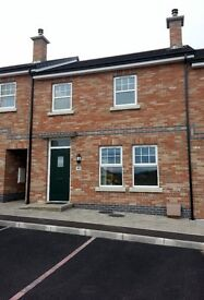 3 Bedroom Town-House for Rent in Knocklynn, Coleraine, Unfurnished Recent Build