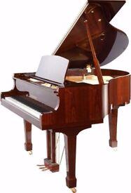 Brand New Steinhoven Mahogany SG148 Baby Grand Piano