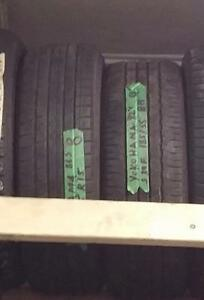Set of two 185 55 15 tires for sale!