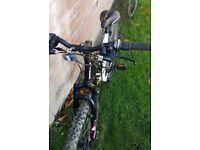 Only used twice. .. apollo adults mountain bike