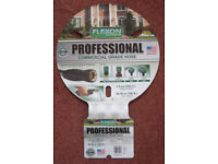 NEW Flexon Professional Commercial Grade Garden Hose Pipe 5/8 inch 100 ft fittings from Costco