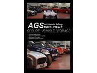 AGScars Vehicle Storage (Cars / Motorbikes)