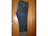 Next 3/4 length maternity trousers size 12