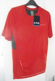 Mens Dare2b Junity Short Sleeved Jersey. Red. Size Medium