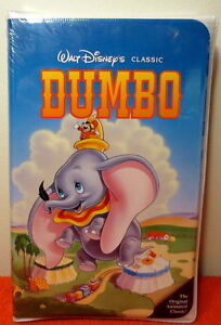 WALT DISNEY'S CLASSIC DUMBO VHS FACTORY SEALED TAPE 1998 ~ NEW!!