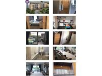 Spacious one bed new build flat in New Malden