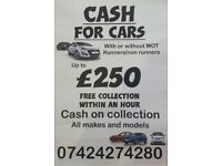 Scrap cars/mot failure/Nottingham
