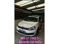 VW Golf GTI MK6 2.0 TSI DSG STAGE 2+ in for BREAKING