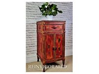 Shabby Chic Drink Cabinet/Cupboard or Gramophone in Annie Sloan
