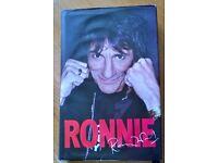 RONNIE by Ronnie Wood hard back book