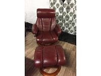 Stressless recliner chair footstool FREE DELIVERY