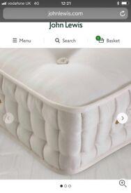 New John Lewis 5000 pocket spring kingsize mattress 5ft pocket spring mattress rrp £799