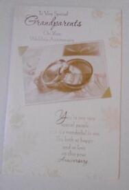 Grandparents Wedding Anniversary Cards - Large