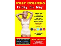FRIDAY 5th MAY - 60s 70s SOUL / REGGAE / MOTOWN / SKA with DOUBLE BARREL – BEDMINSTER
