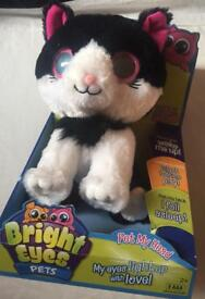 Bright eyes pets cat boxed kids children's toys sound and lights