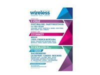 2X Full weekend Wireless festival tickets
