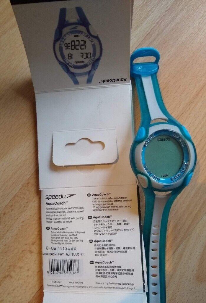 marca popular gran venta diseñador de moda Speedo AquaCoach swim lap counter watch - needs new battery ...