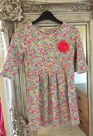 Joules Dress Age 7-8 new with tags