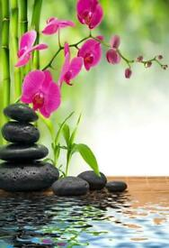 Relaxing Thai massage with hot oil by patra