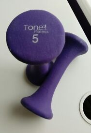 Tone Fitness 5kg Weights