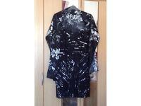 Dress and pashmina/shawl size 16