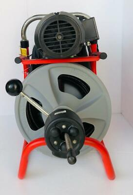 Ridgid K-400 Drum Drain Cleaning Machine With 75 Ft. Cable Length 220240v