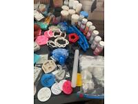 Baking job lots, mixer, cake tins cookie cutters sprinkles food colourings silicone cupcakes Mac