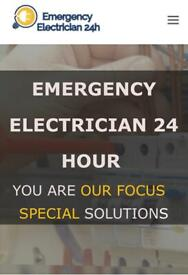 Approved Electrician 24h/7 emergency and appointments call now on 07427611054