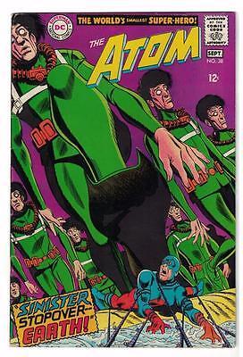 DC Comics Silver age #38 FN+ ATOM 6.5 HAWKMAN