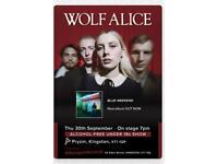 Wolf Alice tickets, Pryzm Kingston, 30/09/2021