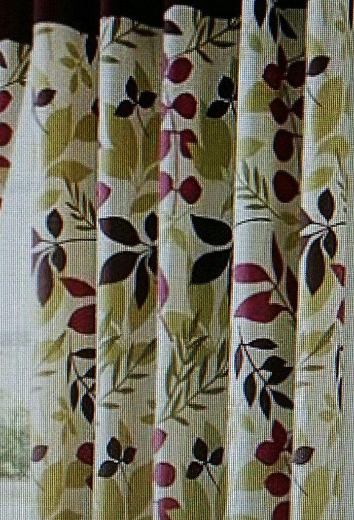 Jakarta Plum Lined Eyelet Curtains