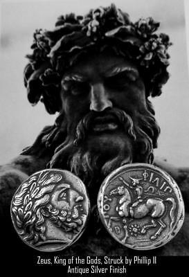 Zeus King of the Gods Greek coin greek Mythology Percy Jackson Teen Gift (PJ4-S)