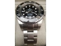 *PREMIUM* Boxed with papers - Deepsea Seadweller Rolex with Divers ext