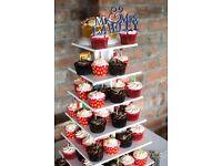 7 tier Wedding / Christmas cupcake / cake stand