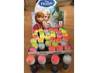 X36 Disney Frozen Bubbles (Brand New)
