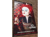 """LARGE """"Alice in Wonderland"""" wall Banner featuring The Red Queen (Disney)"""
