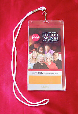 Food Network 2011 Atlantic City Food   Wine Festival Pass
