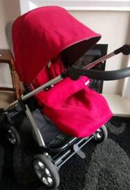 Mamas and Papas Sola 2 Pushchair with Footmuff and Raincover