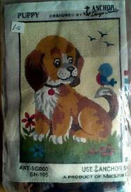 Tapestry kit - Puppy