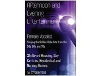 Senior Citizen Entertainment (Nursing Residential Homes)