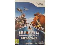 Wii game - Ice Age 4 Continental Drift Arctic Games